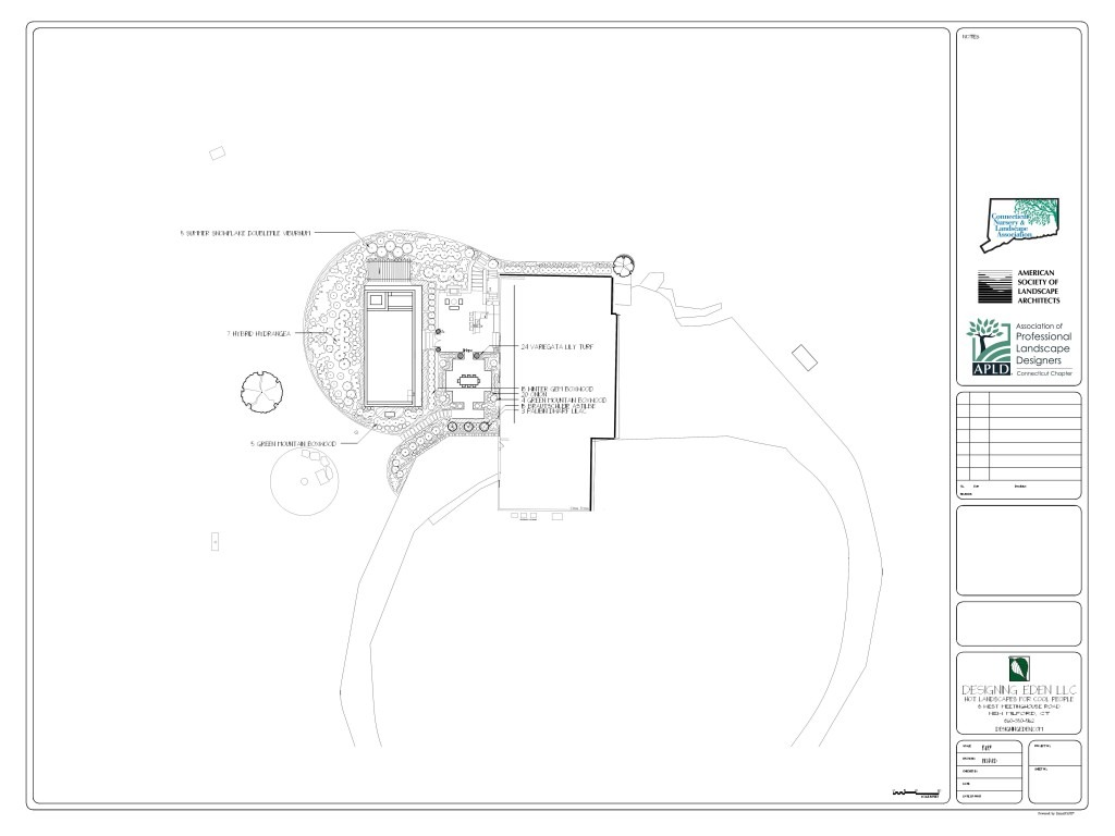 landscape design Bridgewater, CT