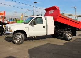 3 yard dump truck