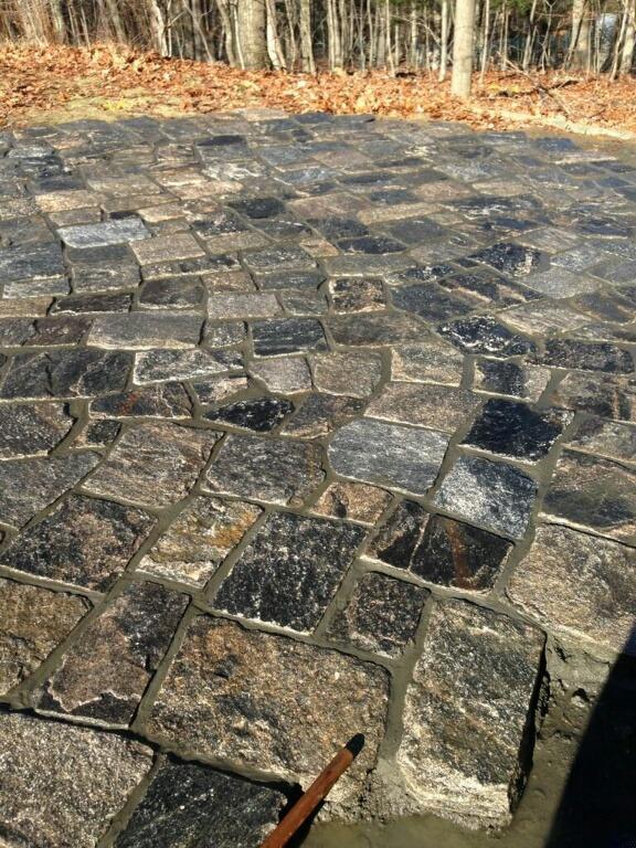 Granite Pool Patio