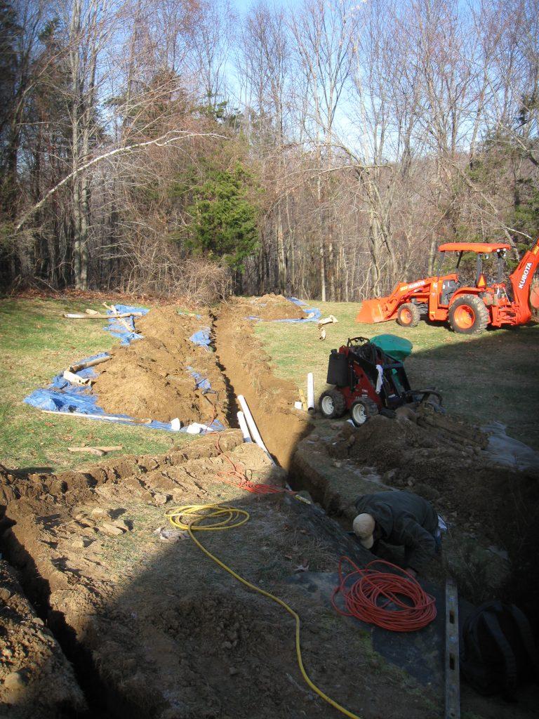 Fixing Drainage