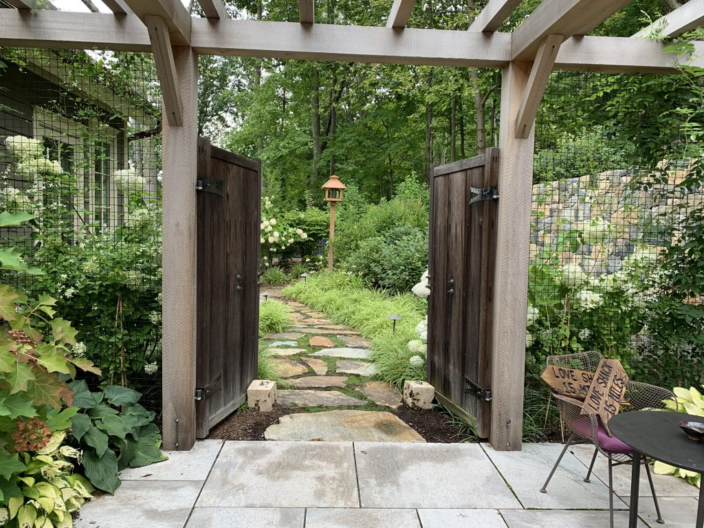 Outfoor courtyard